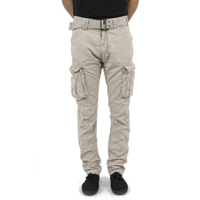 Schott Pantalons ranger beige