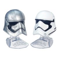 Hasbro - Mini casques Star Wars : The Black Series : Capitaine Phasma et Stormtrooper