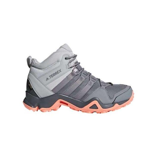 Adidas Chaussures de marche Terrex Ax2R Mid Gtx gris rose clair femme SGr4bzlsJ