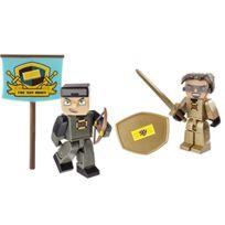 Tube Heroes - Hero Pack - Sky - 2 Figurines ArticulÉES 7 Cm + Accessoires