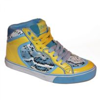 Lost Angels - Samples shoes Hi Top Snake Blue Yellow Women