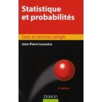 Dunod - statistique et probabilités ; manuel et exercices corrigés 5e édition