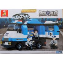 Sluban Europe - Jeu De Construction - Serie Police - Poste De Commandement Mobile - Sluban M38-B0187