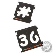 BENCHDOG - Ensemble 31 pièces de fraisage de chiffres 31 pièces 237890