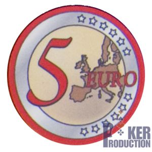 Poker Production - Jetons Euro : 5