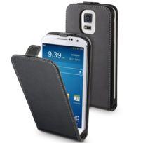 Muvit - Etui Slim Noir Pour Samsung Galaxy S5 + 1 Film Protecteur