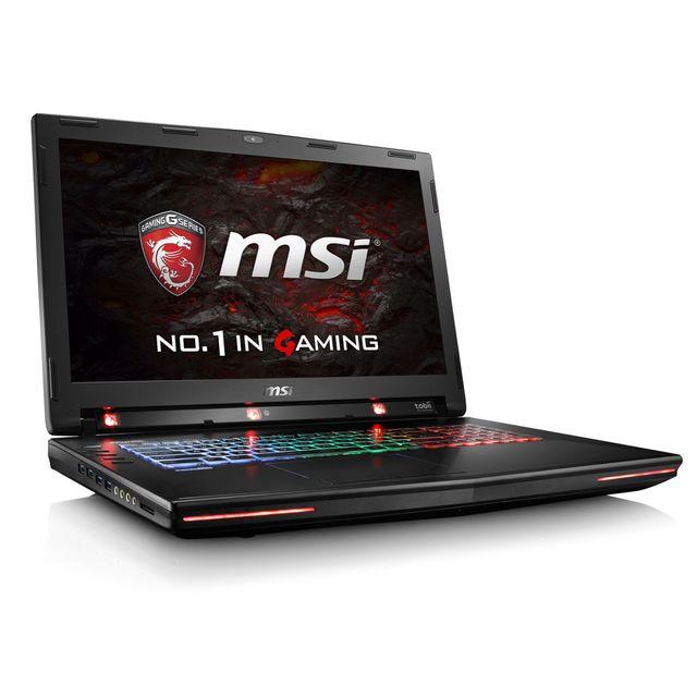 MSI GT72VR 6RD-061FR Dominator Pro Tobii - Noir