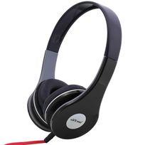 Yonis - Casque audio réglable stereo anti bruit casque arceau isolation noir
