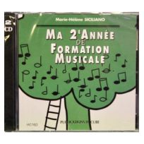 H Cube - Cd Siciliano Marie-Hélène Ma 2ème année de formation musicale - formation musicale