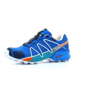 Salomon , Chaussure de Trail homme Gore,tex Speedcross 4 Gtx homme Bleu , 46