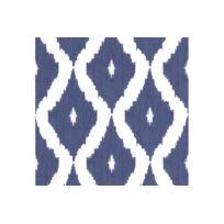 Declikdeco - Papier Peint Jacquard Bleu