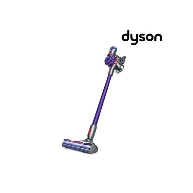 dyson aspirateur balai v7 animal 248411 01 violet gris achat aspirateur balai. Black Bedroom Furniture Sets. Home Design Ideas