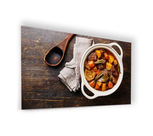 Marque generique fond de hotte en panneau composite - Marque de cuisine francaise ...