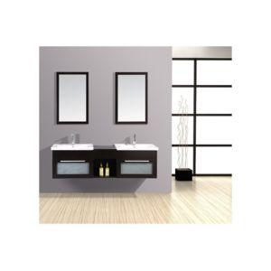 Rocambolesk magnifique meuble salle de bain ch ne for Meuble salle de bain pas cher 2 vasques