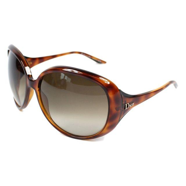 edac825707228 Christian Dior - Cocotte I5VCC Havane - Lunettes de soleil - pas cher Achat  / Vente Lunettes Mouche - RueDuCommerce
