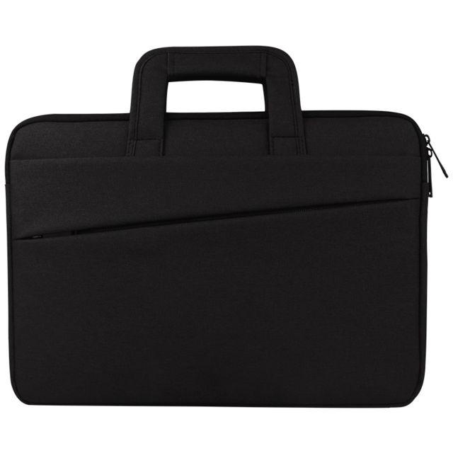 wewoo sacoche pour ordinateur portable noir 15 6 pouces et ci dessous macbook samsung lenovo. Black Bedroom Furniture Sets. Home Design Ideas