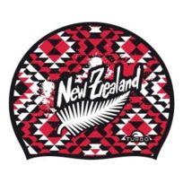 Turbo - Bonnet en silicone New Zealand Culture noir rouge blanc