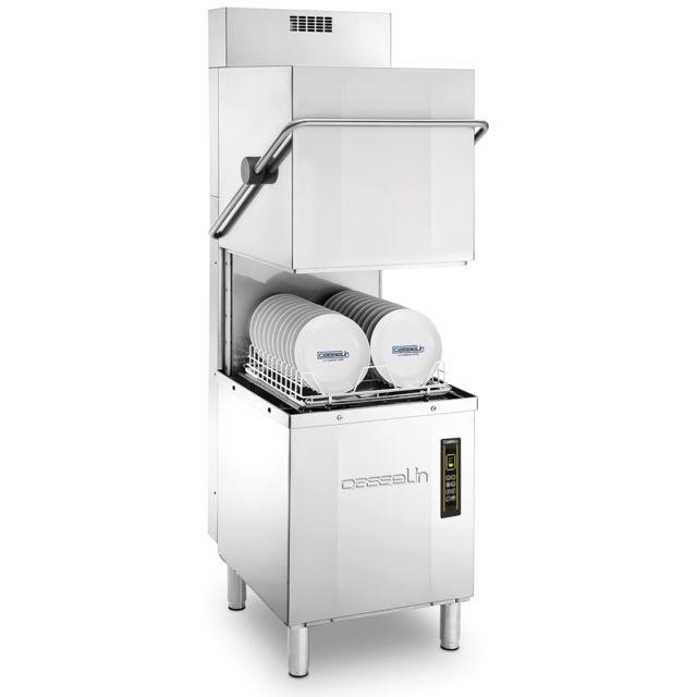 CASSELIN lave-vaisselle 500 à capot double paroi avec pompe de vidange et récupérateur de chaleur 26l 8900w - clvacdpvrc