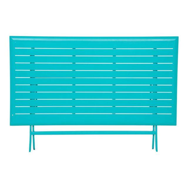 Hespéride - Table pliante Azua - 6 Places - Lagon 150cm x 71cm x 80cm