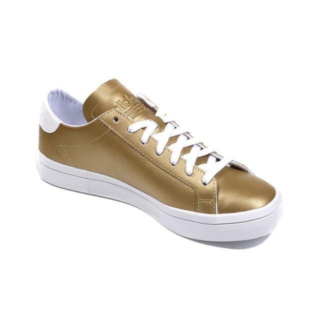 Adidas Chaussures Court Vantage Or Femme Multicouleur 41 1