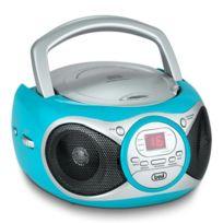 Trevi - Cmp 512 Lecteur Cd radio Am/FM Aux -turquoise