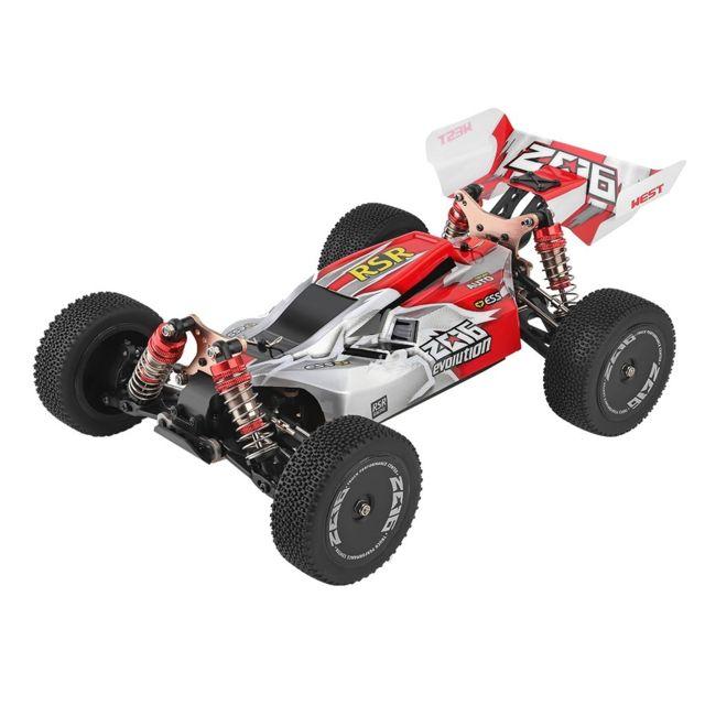 Wltoys 144001 1/14 2.4G 4WD 60KM / h Buggy haute vitesse RC Véhicule tout terrain