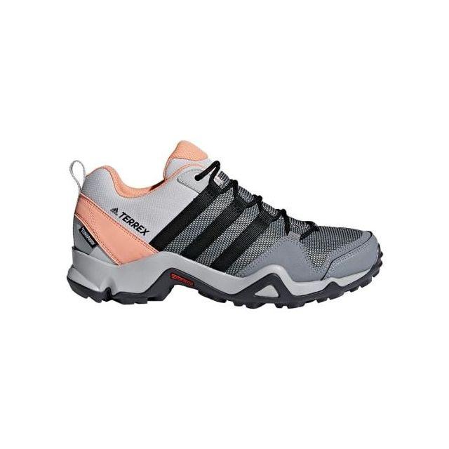 Chaussures Terrex Ax2 Cp gris rose clair noir femme