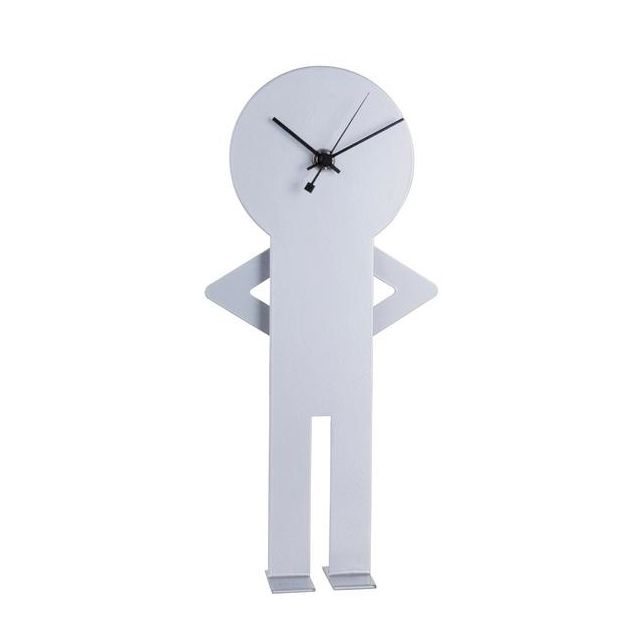 Nextime Horloge Design Originale à Balancier à Poser Man Pas