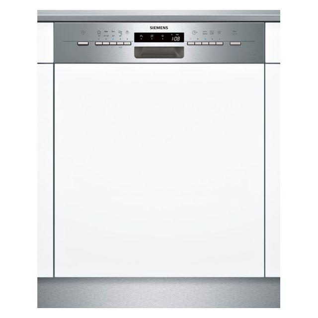SIEMENS lave-vaisselle 60cm 12 couverts a+ intégrable avec bandeau apparent inox - sn55l502eu