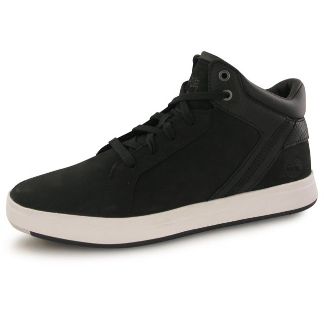 Timberland - Baskets Davis Sq Leather Chulla - pas cher Achat   Vente  Baskets homme - RueDuCommerce 374c9bf24d39