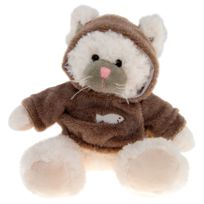 No Name - Peluche Chat avec Pull