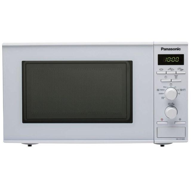 PANASONIC micro-ondes + gril 20l 800w blanc - nn-j151wmepg