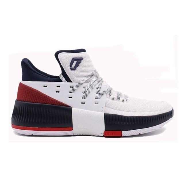 Adidas Chaussures de Basketball Dame 3 blanc navy pour