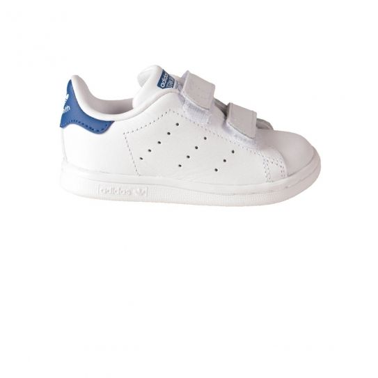Adidas Chaussures Stan Smith BlancBleu Bebe h16