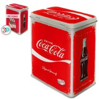 Coca-cola - Grande Boite rectangulaire métallique