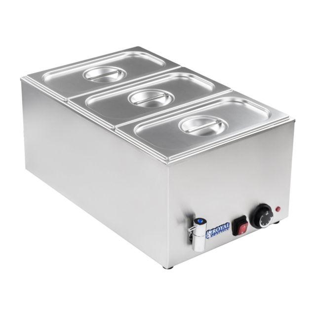 Autre Bain-marie électrique professionnel bac Gn 1/3 avec robinet de vidange 1 200 watts 3614103