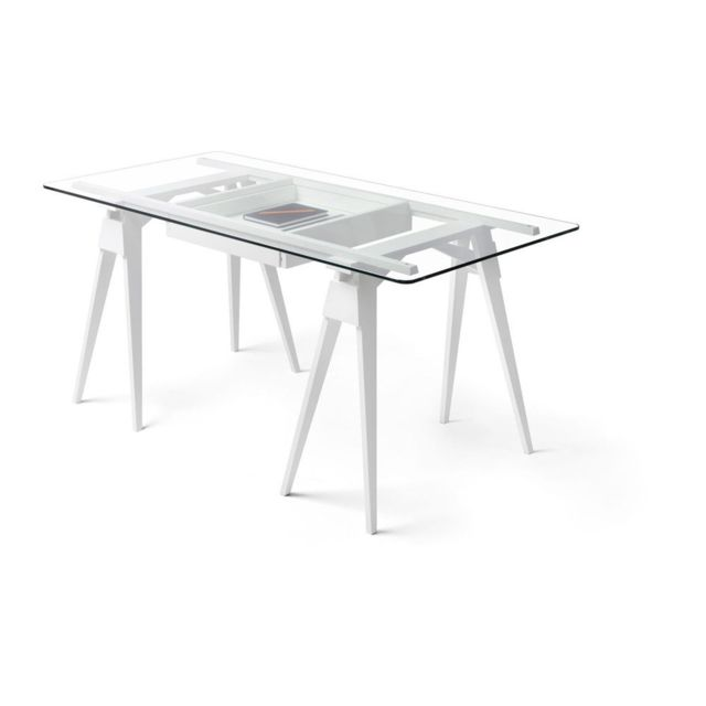 Design House Stockholm Bureau Arco - blanc