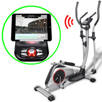 Vidaxl - Vélo elliptique programmable Xl masse mobile 18 kg Smart App
