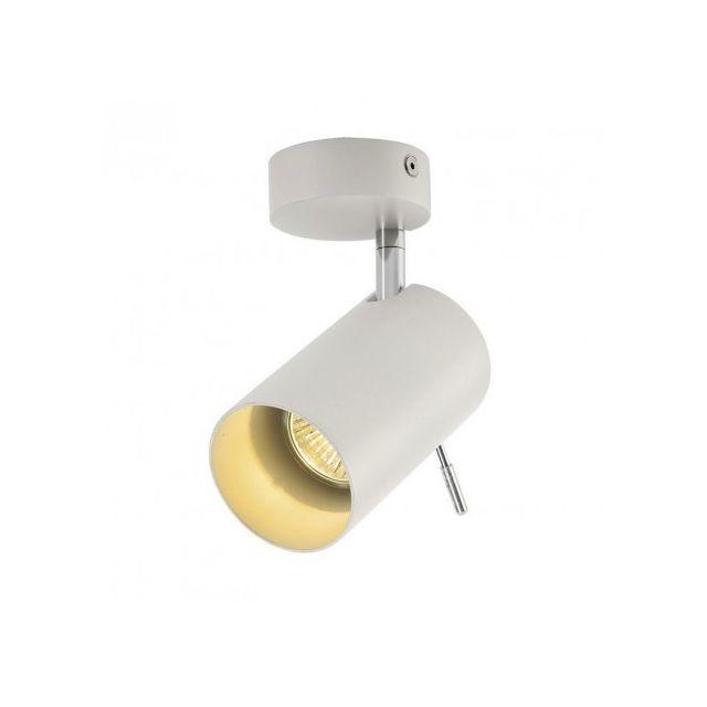 Slv Spot Gu10 Asto Tube 1 D7 cm - Blanc
