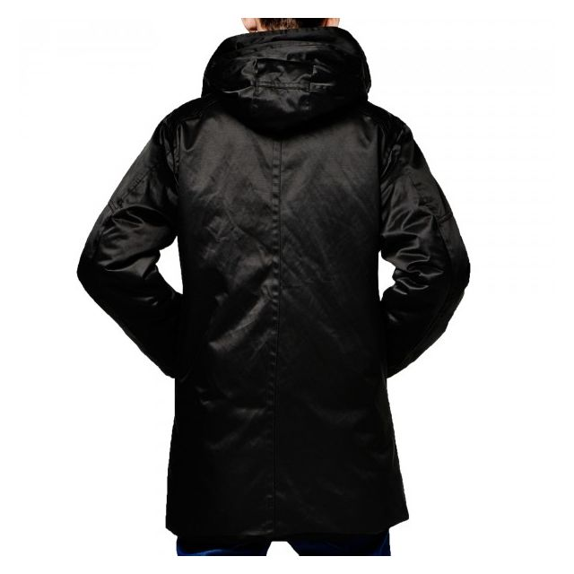 G star Parka Homme Mountain Hdd Noir 82578B Couleur Noir, Taille S
