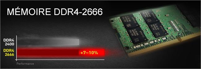 MSI - RAM DDR4-2666