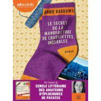 Audiolib - Le secret de la manufacture de chaussettes inusables