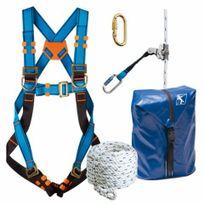 TRACTEL - Kit harnais couvreur 10m - 40862