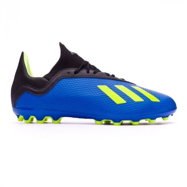 Adidas X 18.3 AG enfant Foot blue Solar yellow Black pas