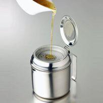 Chevalier Diffusion - Pot Inox à Filtrer L'huile 75 Cl Avec 2 Filtres