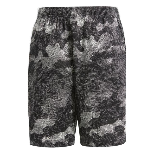 Adidas - Short Essentials Camo - pas cher Achat   Vente Pantalons ... f7bfc4fe4f7