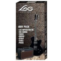 Lag - Gle Packi60V - Guitare électrique Imperator 60 - Pack Imperator Vox Black