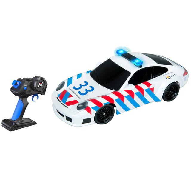 Nikko Voiture Rc Police Porsche 1:16 20098