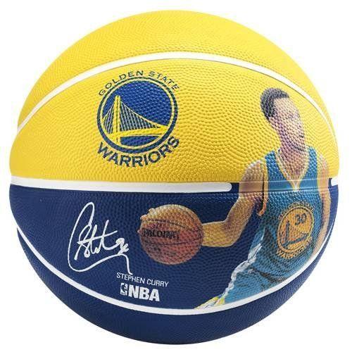 5eb690a19760a Spalding - Ballon Nba Player Stephen Curry T5 - pas cher Achat / Vente  Ballons basket - RueDuCommerce