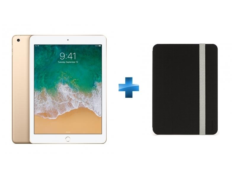 iPad - 9,7'' - 128 Go - WiFi - MPGW2NF/A - Or + THZ638GL - Click-In iPad 9,7 - Noir
